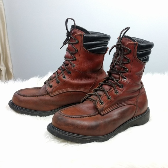Red Wing 8 Supersole Moc Toe Work Boots